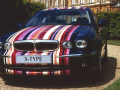 Paul Smith and the Jaguar X-Type