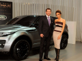 Victoria Beckham and the Range Rover Evoque