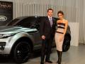 Victoria Beckham and the Range Rover Evoque