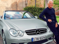 Giorgio Armani and the Mercedes-Benz CLK