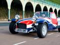 Lambretta and the Caterham Seven