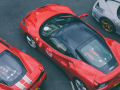 Huge convoy of Ferraris takes over London