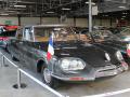 The presidential cars: Citroen DS 21