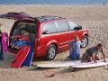 Dodge Grand Caravan: Tailgate Seats