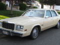 1980 Plymouth Gran Fury – 221.5 inches / 5.62 metres