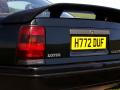 Vauxhall Lotus Carlton: rear spoiler