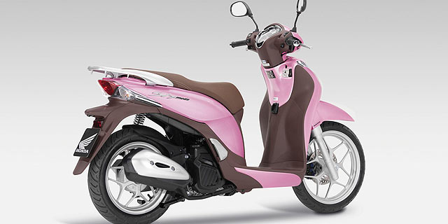 Honda In The Pink With New Sh Mode 125 Scooter Motoring Research