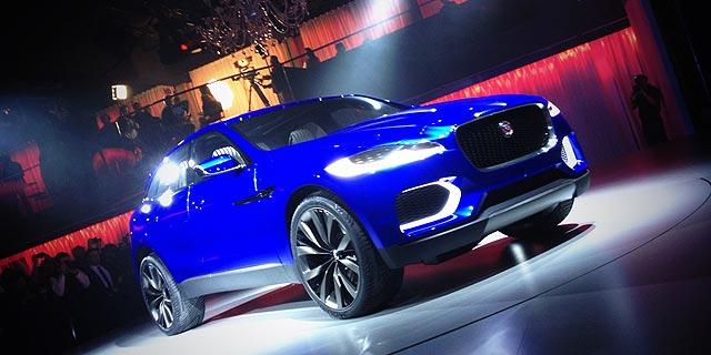 Jaguar C-X-17 Frankfurt Motor Show 2013