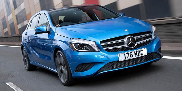 New mercedes benz a class for 249 a month motoring research for Mercedes benz financing rates