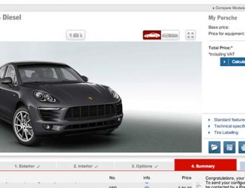 Configurator: 2013 Porsche Macan