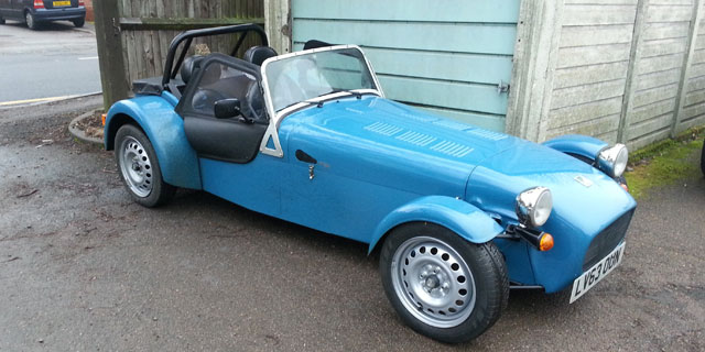 First 5 Minutes Caterham Seven 160 Motoring Research