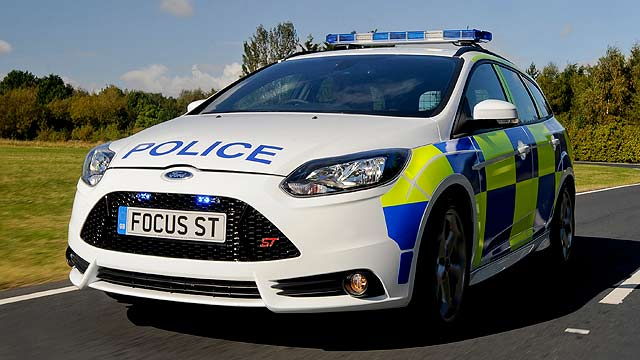 Police Ford Focus