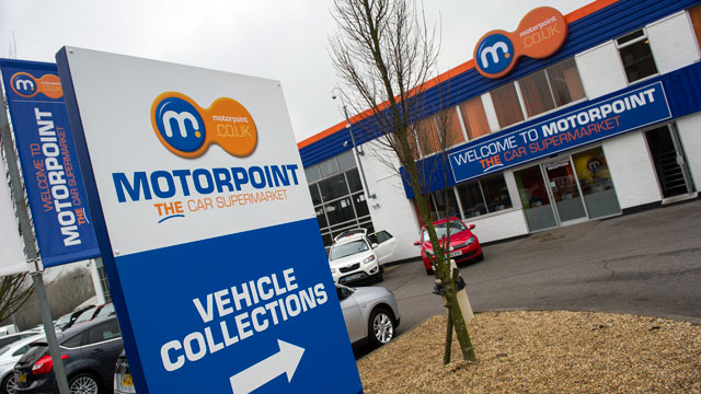 Motorpoint Same Day Driveaway