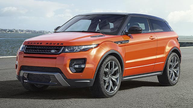 hot 285hp range rover evoque revealed motoring research. Black Bedroom Furniture Sets. Home Design Ideas