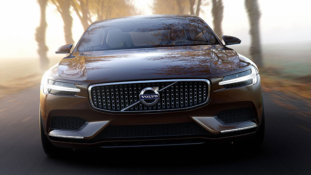 Volvo concept estate to star at geneva 2014 motoring for Star motor cars volvo
