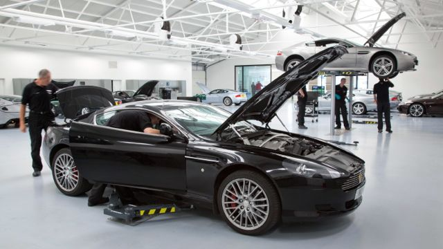 Fixed Price Servicing On Used Aston Martins Motoring Research - Used aston martin price