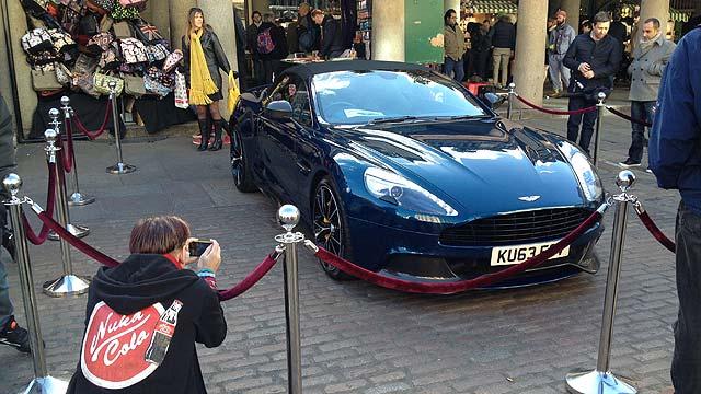 Aston Martin Vantage Volante Covent Garden
