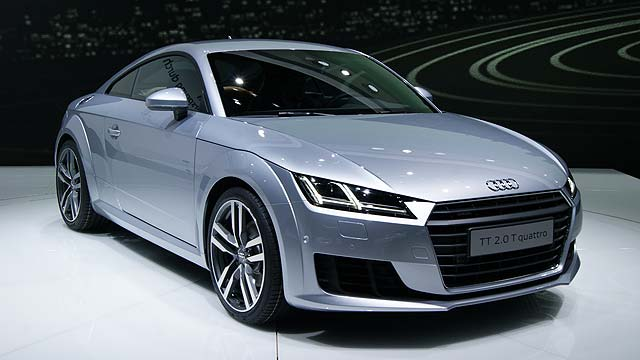 Audi TT Geneva Motor Show 2014