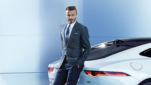 David Beckham Jaguar