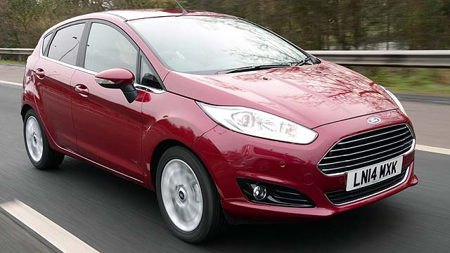 Ford Fiesta UK best-selling car March 2014