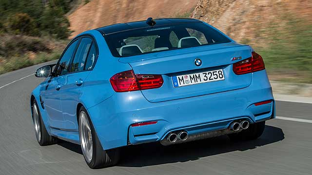 BMW M3 Saloon 03