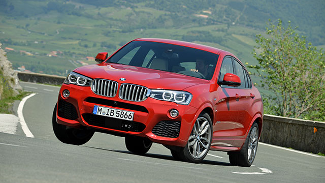 BMW X4 review - 2014 first drive