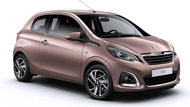 peugeot 108 to cost from 8 245 motoring research. Black Bedroom Furniture Sets. Home Design Ideas