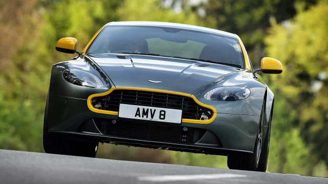 Aston Martin Vantage N430 Review 2014 First Drive Motoring Research