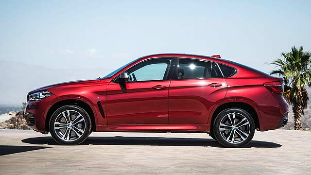 BMW reveals all-new X6