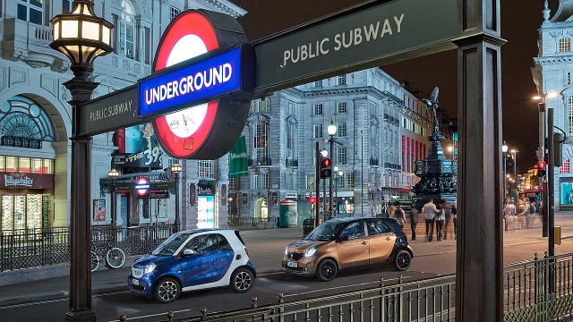 2014 Smart Fortwo Forfour London