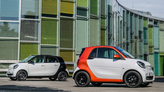 official new smart fortwo and forfour revealed motoring research. Black Bedroom Furniture Sets. Home Design Ideas