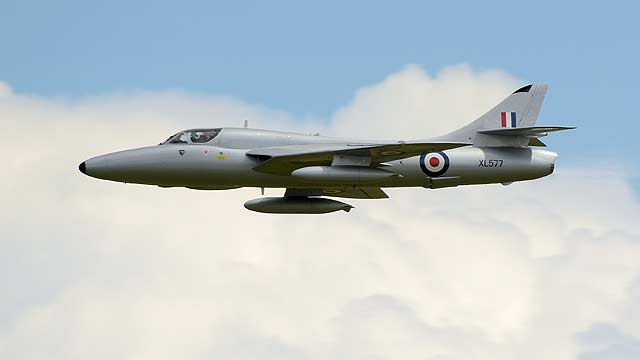 Goodwood FoS 2014 Hawker Hunter