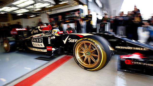 Pirelli Lotus 18-inch F1 tyre