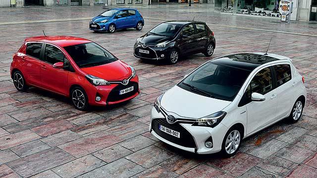 Toyota-Yaris-range