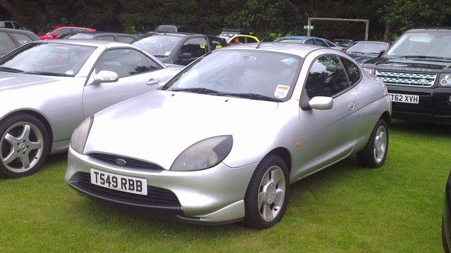 Andrew Brady's new Ford Puma