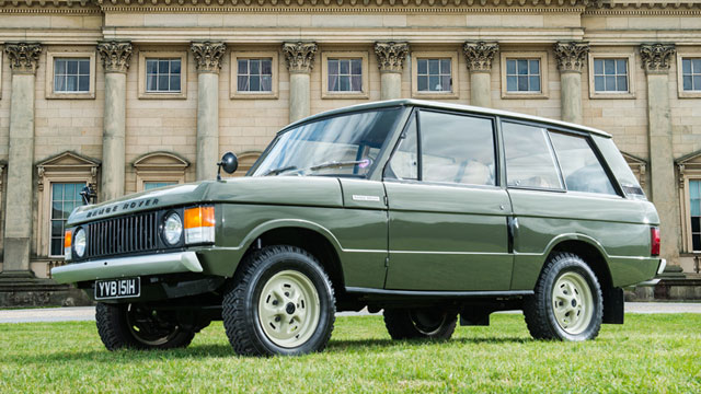 First production Range Rover auction 002