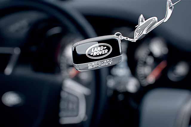 Land Rover Discovery Sport interior tease Virgin Galactic