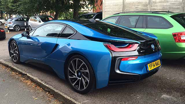 Bmw I8 The Future Arrives At Mr Towers Motoring Research