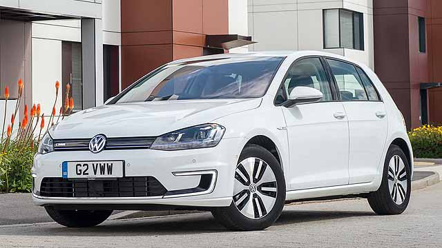 Volkswagen e-Golf UK review