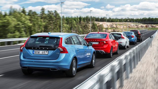 Volvo Driverless Car Test Centre
