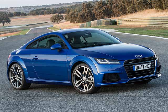 audi tt coupe review 2015 first drive motoring research. Black Bedroom Furniture Sets. Home Design Ideas