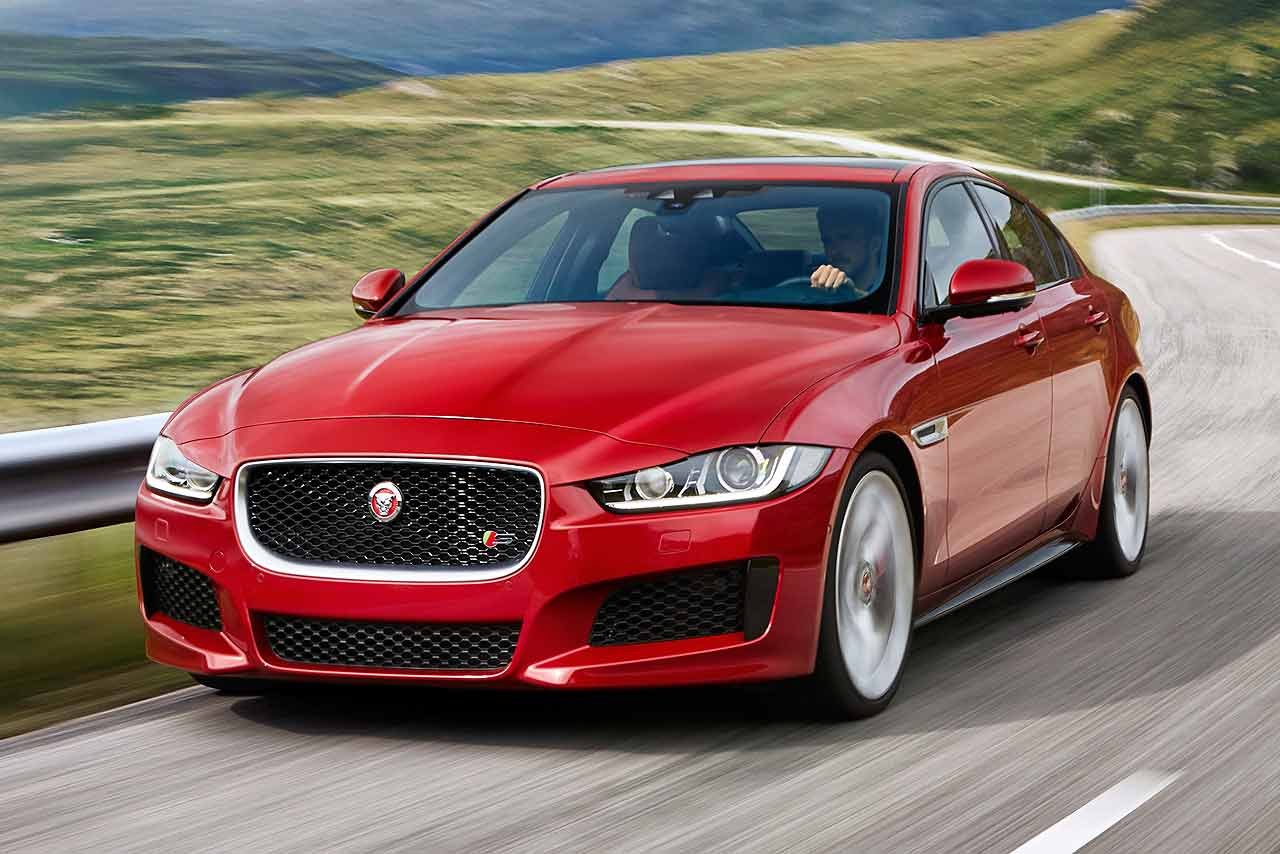 Jaguar XE 2015 revealed in London
