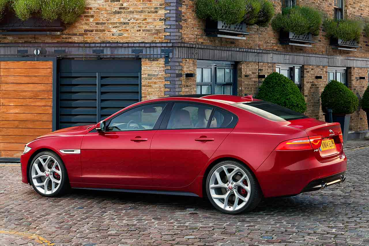 jaguar xe revealed the new 2015 baby jag is born motoring research. Black Bedroom Furniture Sets. Home Design Ideas