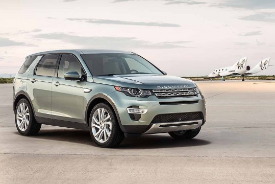 Land Rover Discovery Sport Spaceport