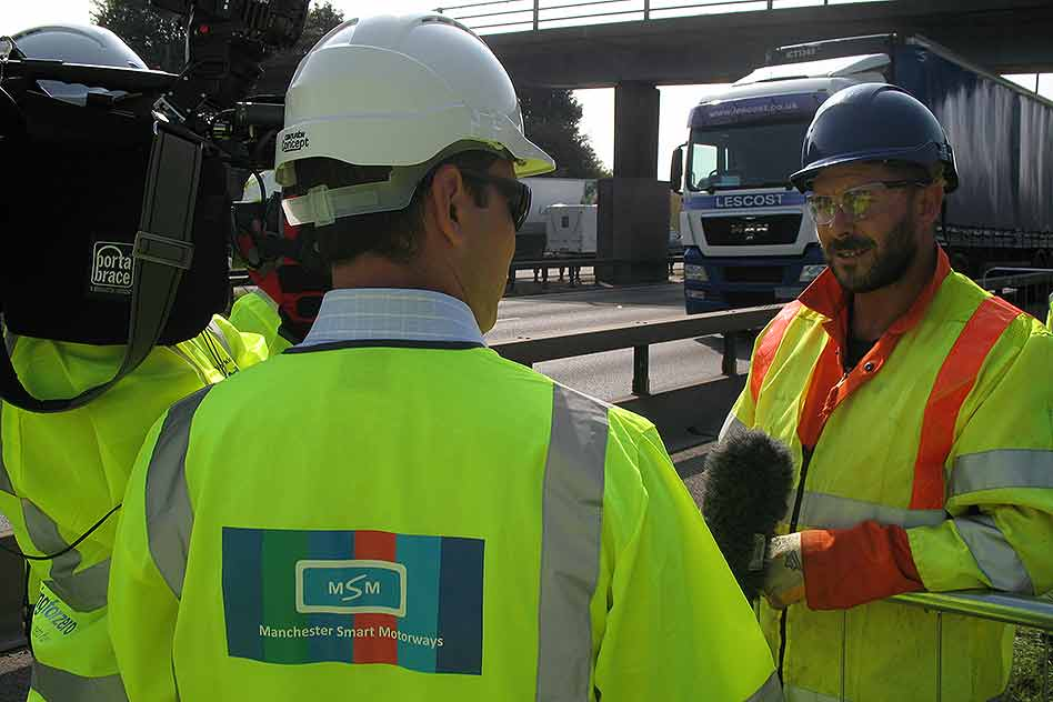 Highways Agency Roadworker Safety Week