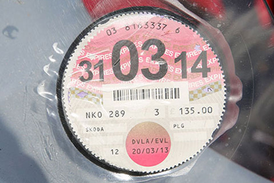 VED road tax