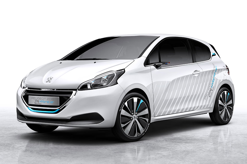 The car that runs on air: Peugeot\'s new 208 Hybrid Air 2L explained ...