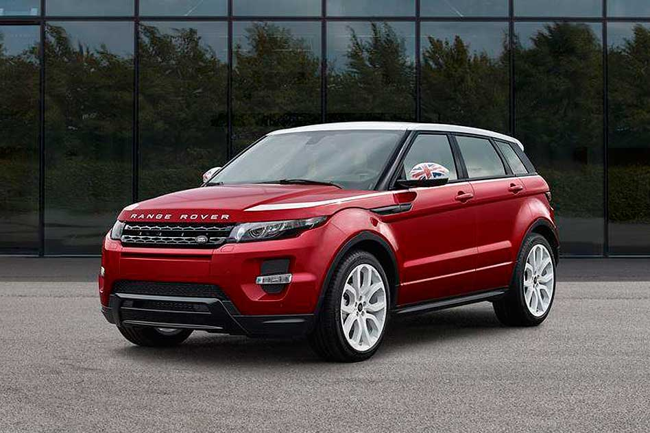 Land Rover Evoque 2014 >> Land Rover celebrates Union Flag with new Range Rover Evoque SW1 | Motoring Research