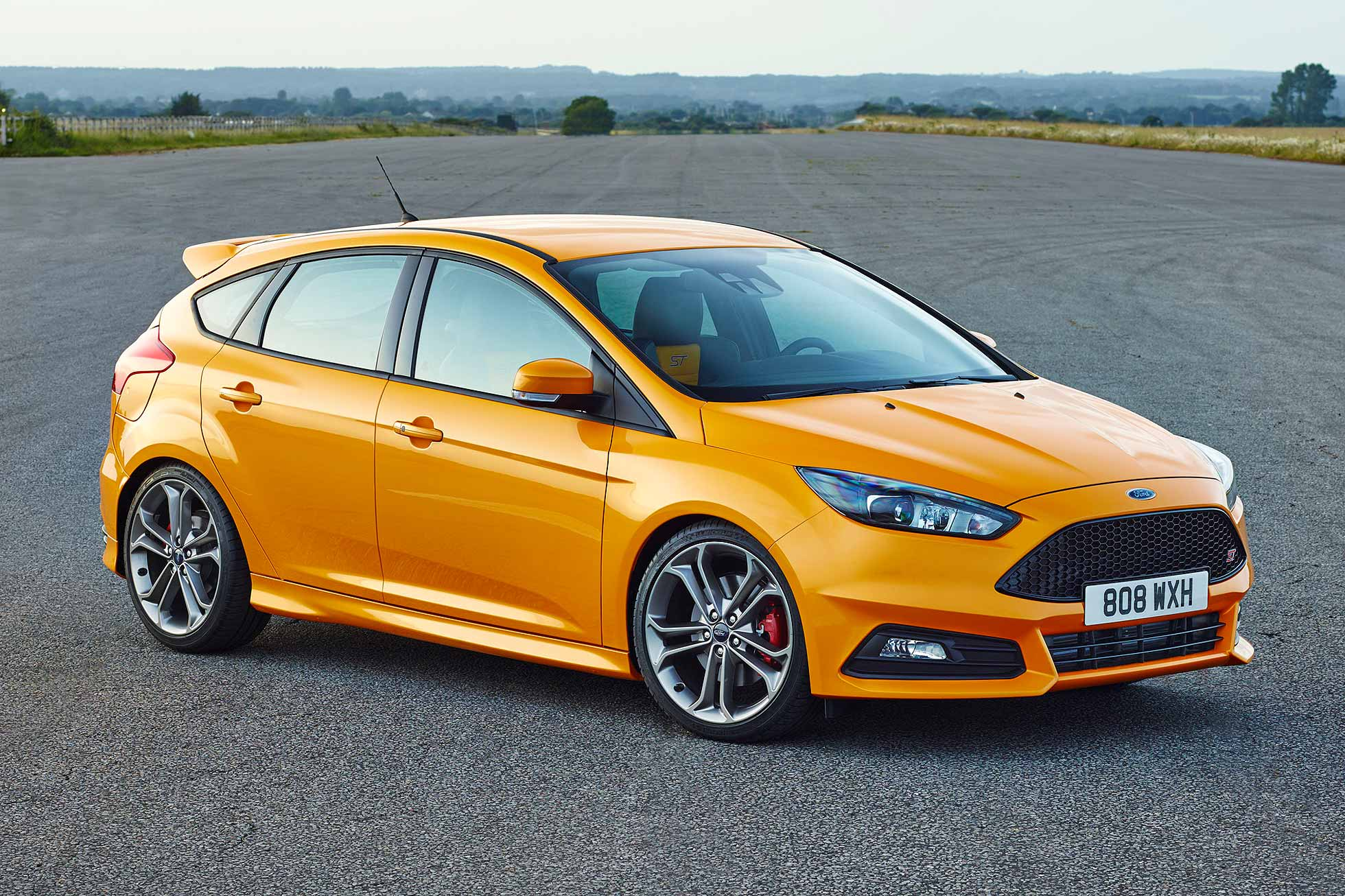 2015 ford focus st - 2014 Ford Focus St Red