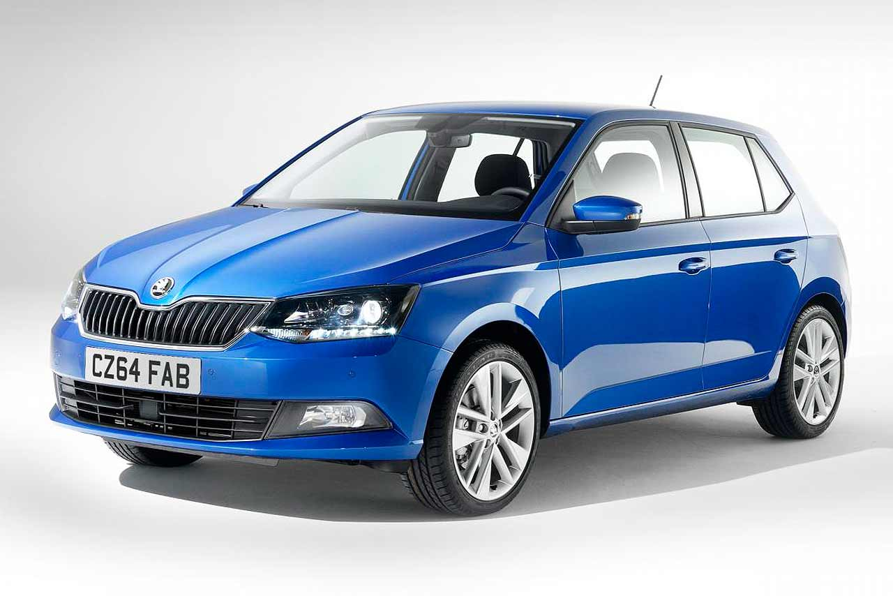 new 2015 skoda fabia to cost from 10 600 motoring research. Black Bedroom Furniture Sets. Home Design Ideas